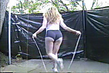 Pattie Jumps Rope