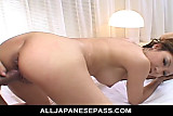 Naami Hasegawa blindfoled kissed fingered and fuck