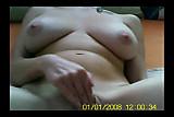 big-titted Betka masturbating