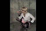 Piss: Amateur Crossdresser Desperatetranny Drinks Piss