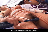 Ai Yumemi bound and skull fucked by two horny guys