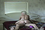 Badly Behaving Blonde Caught On Cam