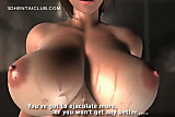 Mosaic; Hot ass anime sex goddess blows a huge shaft