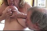 Natural Big Tits Mature Martiddds Sucks Own Nipples