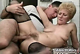 Mature fucks with young boy