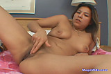 Brunette Makes Herself Cum