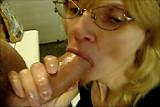 Blowjob at Work - Deep Throat !