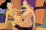 Futurama Leela and Amy