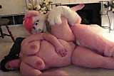 pink husky bangs a bbw