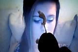 Cum on a webcam girl